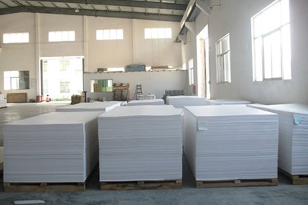 PVC foam board stock room
