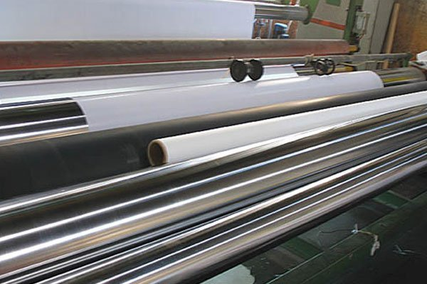 PVC flex banner processing pic.