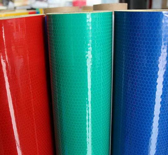 High Intensity Grade Prismatic Reflective Sheeting(Acrylic Type)