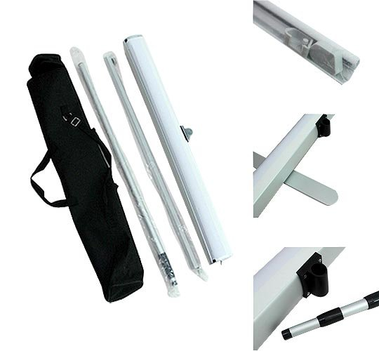Adjustable Pole Roll Up Banner Stand