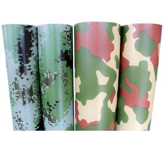Camouflage Car Wrap Vinyl