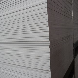 China pvc Extruded Foam Board WPC Film Faced Plywood 16MM