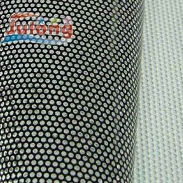 Black Face Printing Perforated Vinyl