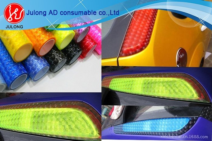 4D Cat Eye Car Head Light Film