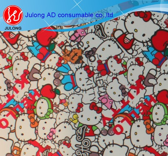 Hello KittyBomb sticker bubble free 1.52*30m glossy and matte