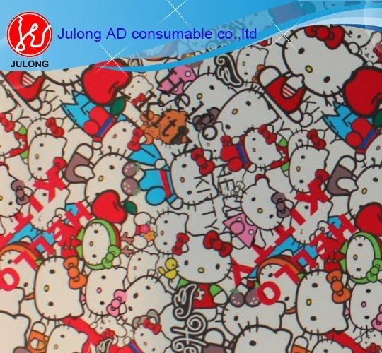 Hello KittyBomb sticker bubble free 1.52*30m glossy and matte