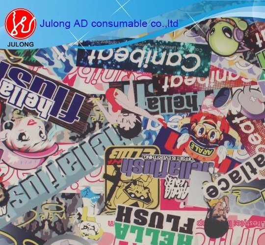 Bomb sticker  air bubble free  matte, and glossy 1.52*30m