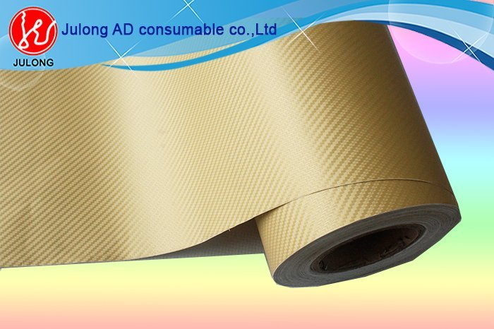 Golden 3D Carbon Fiber Film 1.52*30m