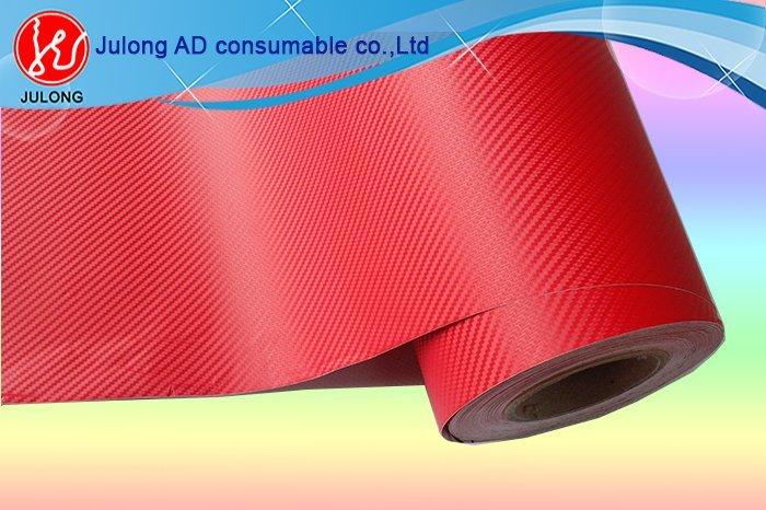 Red 3D Carbon Fiber 1.52*30m