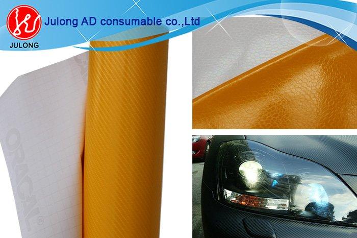 High glossy white 4D carbon vinyl 1.52*30