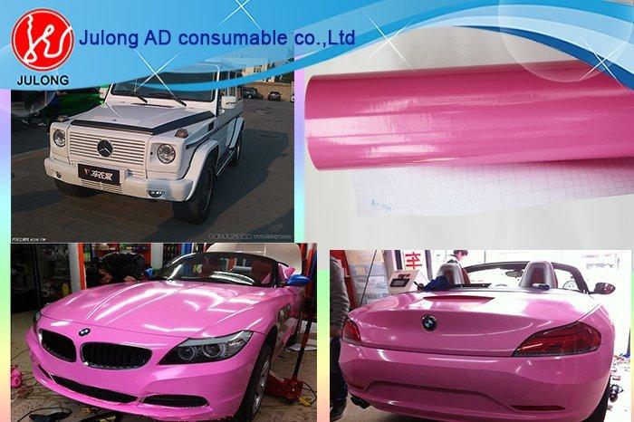 High Glossy Car Wrap Vinyl air bubble free