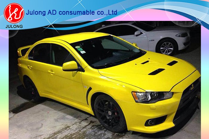 High Glossy Car Wrap Vinyl air bubble free