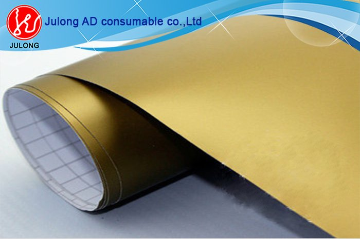 Matte Golden color vinly 1.52*30m