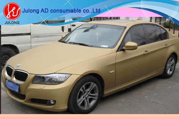 Matte Golden color vinly 1.52*30m
