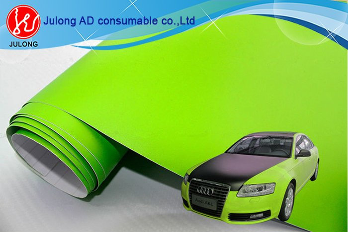 Matte green vinyl CW104 1.52*30m air bubble free