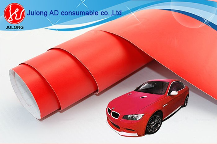 Matte Red vinyl CW104 1.52*30m air bubble free