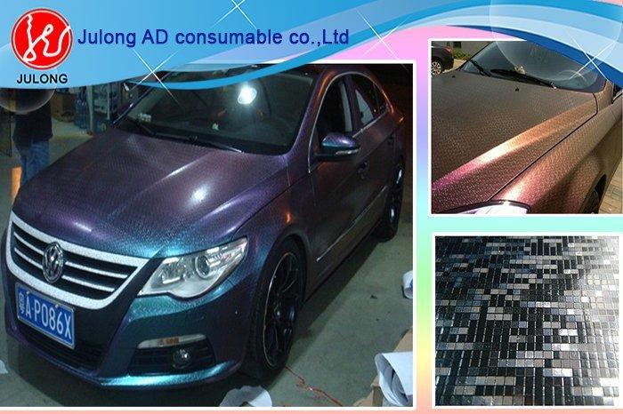 Matrix Brown to Blue Chameleon Car Wrap Vinyl with air Channel 1.52*30m