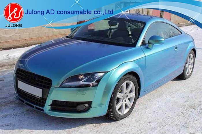 Chameleon Flat Car Wrap Vinyl with air Channel 1.52*30m