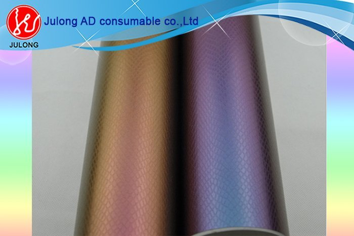 Chameleon design vinyl 1.52*30m air bubble free