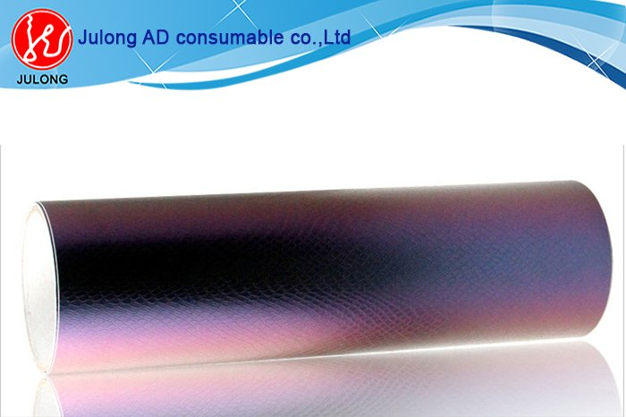 Chameleon Snake Skin Car Wrap Vinyl with air channel