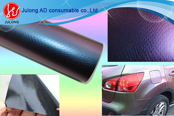 Chameleon Snake Skin Car Wrap Vinyl with air channel