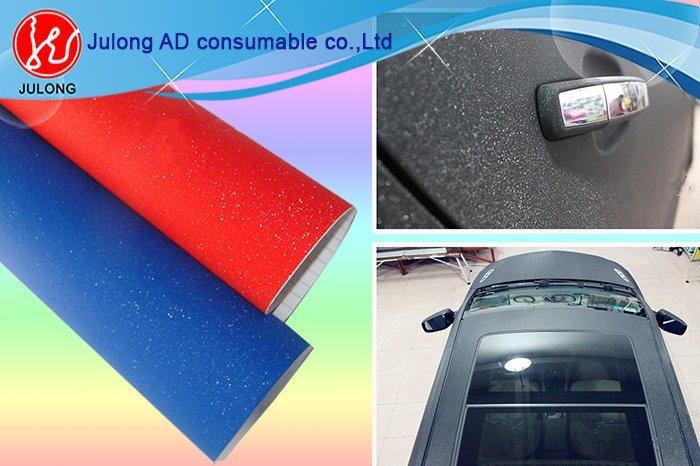 Purple Diamond glitter car wrap vinyl air bubble free 1.52*30m
