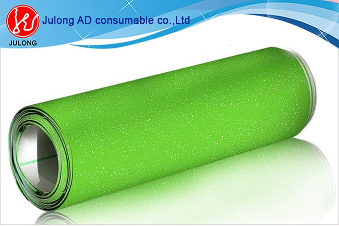 Green Diamond glitter car wrap vinyl air bubble free 1.52*30m