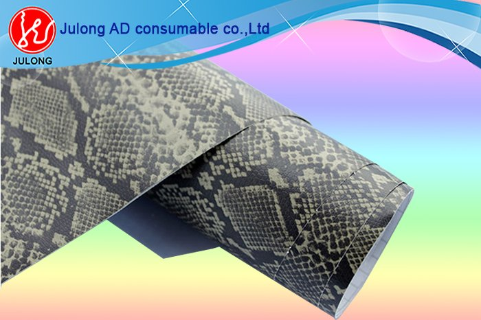 High Flexible Snake Skin Car Wrap Vinyl