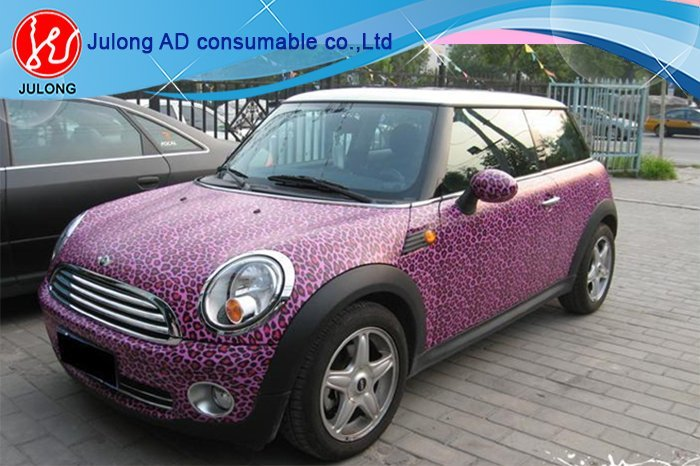 Animal skin car wrap vinyl air bubble free 1.52*30m