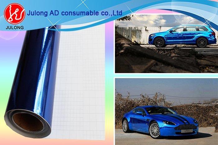 Black Chrome vinyl air bubble free 1.52*30m