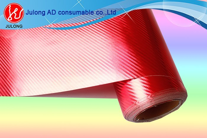 Golden Chrome Carbon Fiber Car Wrap Film 1.52*30m