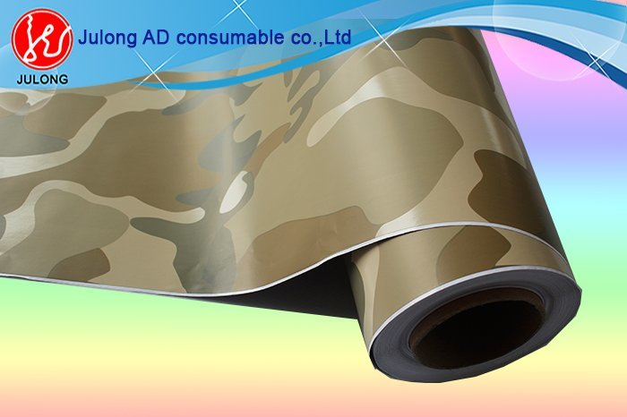 Camouflage grey wrap vinyl with air channel 1.52*30m ML820