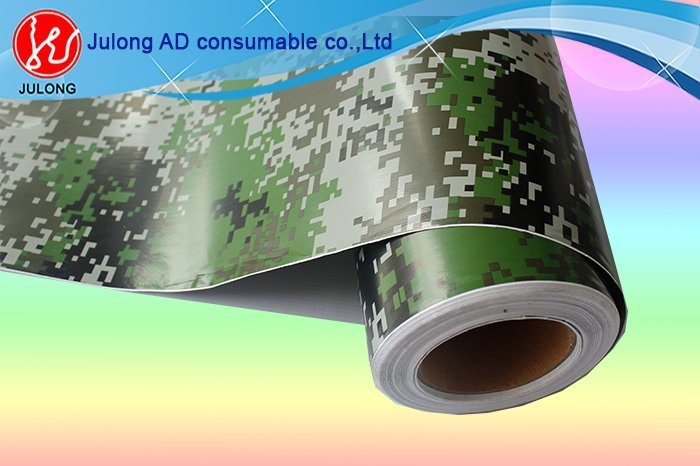 Camouflage grey wrap vinyl with air channel 1.52*30m ML822