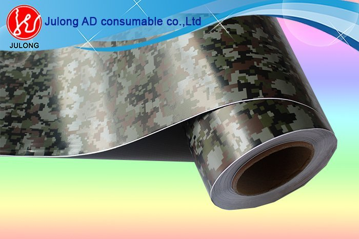 Camouflage grey wrap vinyl with air channel 1.52*30m ML823