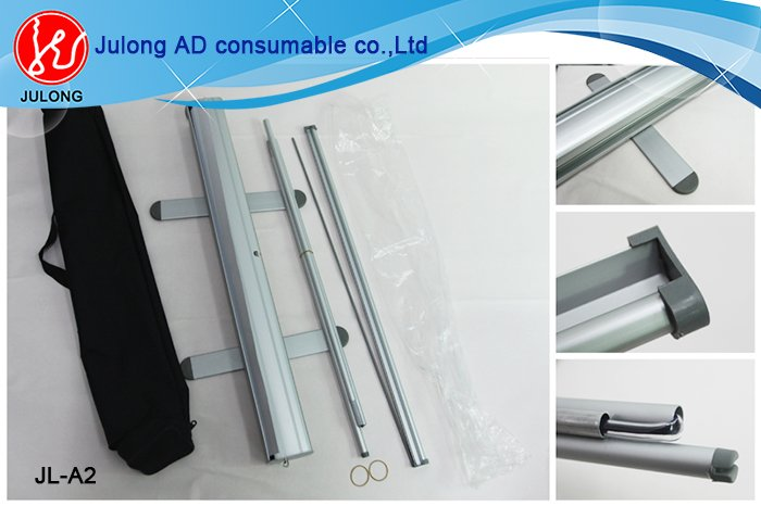 Aluminum material roll up banner 80*200cm