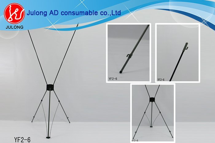 X Banner Display, Gear X Banner, Aluminum Tube, Simple and Easy to Set Up, Steady and Light Weight