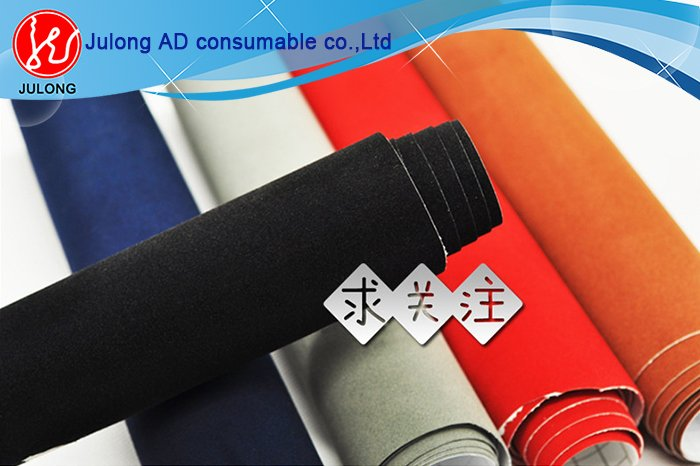 New coming Car body velvet suede fabric film/velvet fabric car wrap 1.35*15m