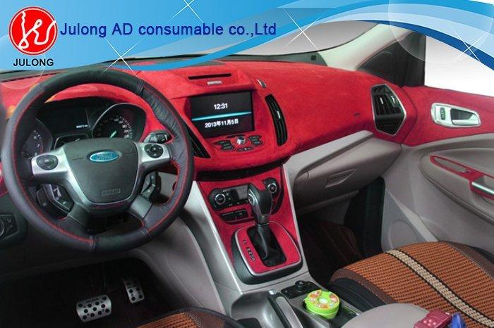 Car body velvet suede fabric film/velvet fabric car wrap 1.35*15m