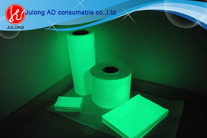 Printable Luminous film (glow in dark) 1.22*41m
