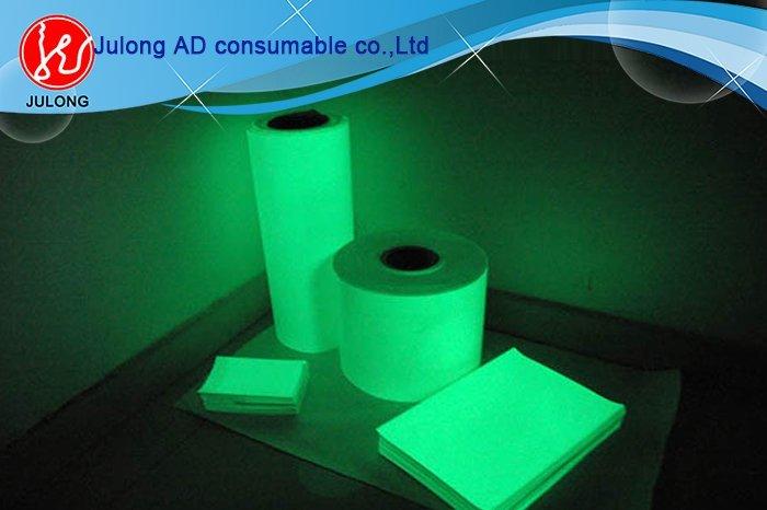 Printable Luminous film (glow in dark) 1.22*41m