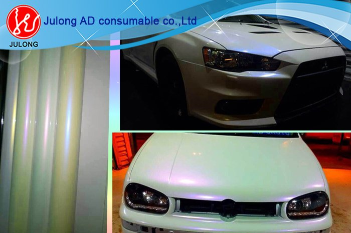 New Design chameleon car wrap vinyl 1.52*20m with air channel