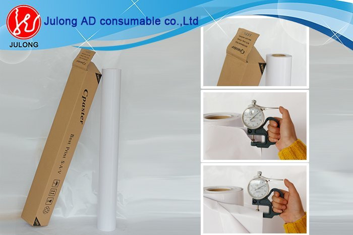 Self Adhesive Vinyl 10S 160g with out wrinkle with full size