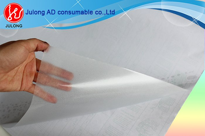 Transparent frosy self-adhesive vinyl 1.2*50m