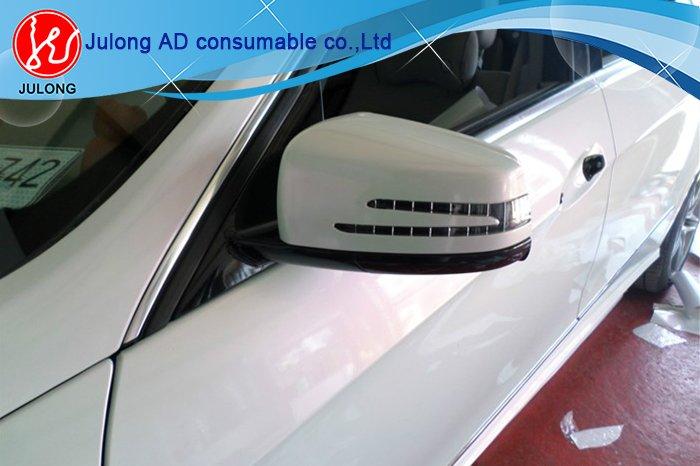 new type Chameleon vinyl white to purple color air bubble free. 1.52*20m