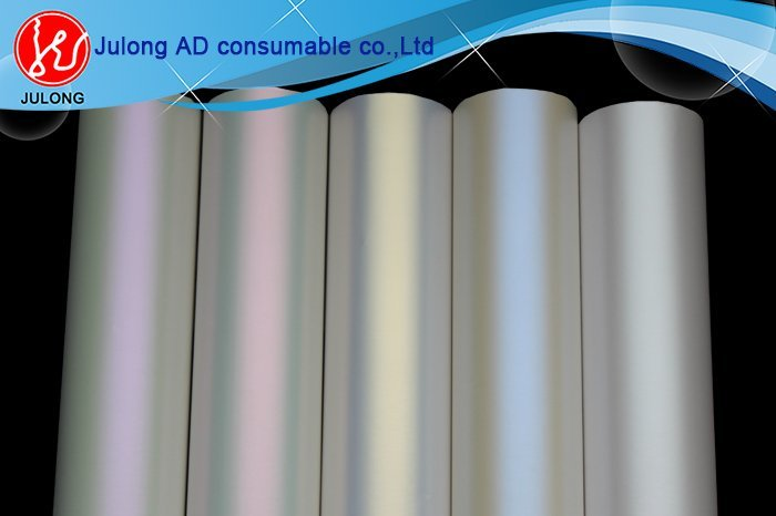 Matte chameleon fabric white to blue color with air bubble free 1.52*20m