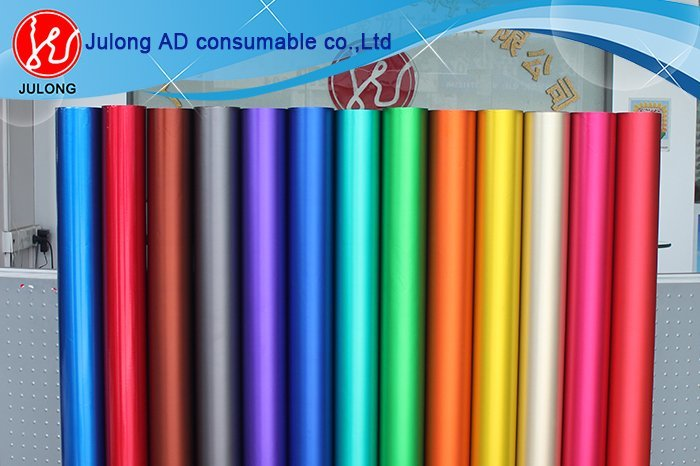 Matte chrome Fiber high polymer  with air channel 1.52*20m