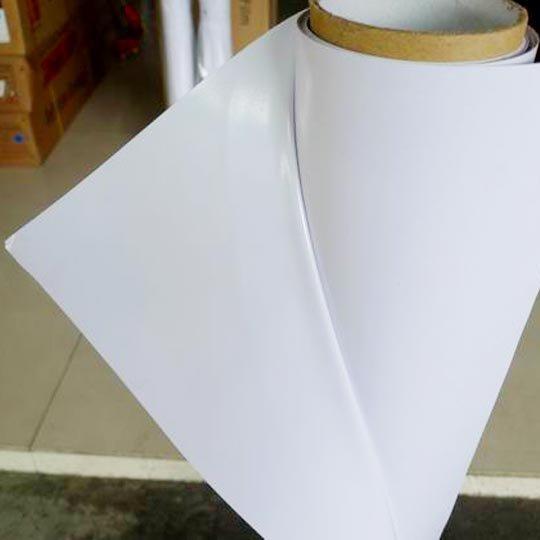 XC Transparent self adhesive vinyl 120g