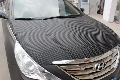 Cat eye car wrapping vinyl 1.52*30m with air channel