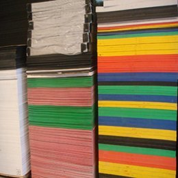 Coloured pvc Foam Board Celuca pvc Foam Board