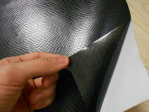 Snakeskin auto film with air bubble free